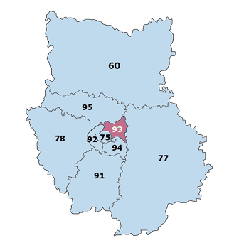 Carte Veterinaire de Garde Ile-de-France Seine St Denis 93